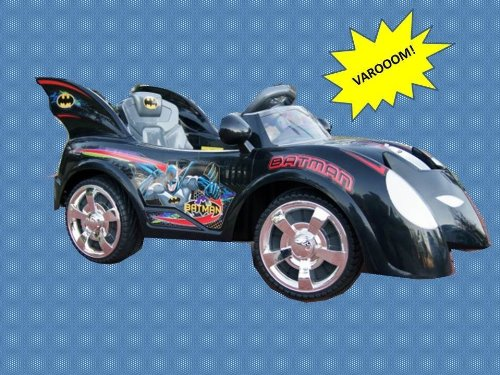 Super Hero Batman Power Ride On Wheels Licensed Batmobile Kids Electric Car Exclusive Limited Edition New 2013 model