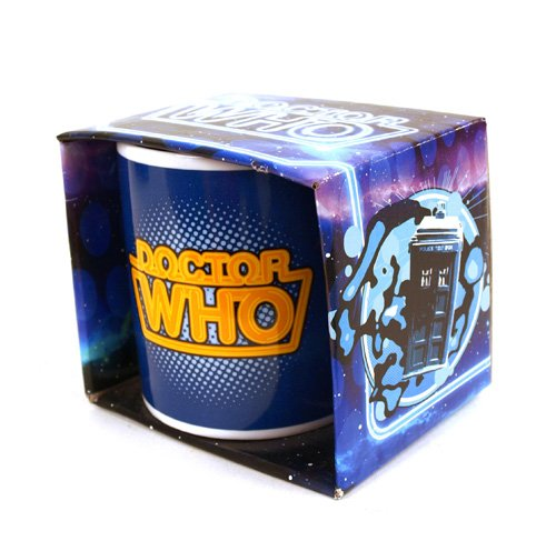 Doctor Who Retro Logo Mug