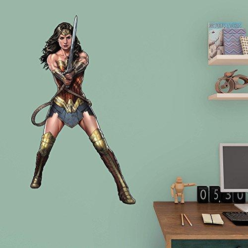 DC Batman Vs. Superman Wonder Woman Fathead Jr at Gotham City Store