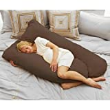 Todays Mom Cozy Comfort Pregnancy Pillow - Espresso