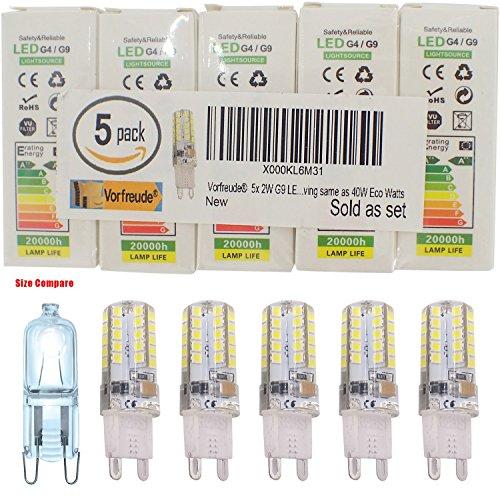 -vorfreuder-5x-2w-g9-led-bulbs-240v-pack-of-5-90000-hour-4500-longer-life-cool-white-dimmable-capsul