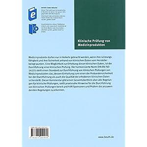 Klinische Prüfung von Medizinprodukten: Ein Kommentar zu DIN EN ISO 14155 (Beuth Kommenta