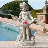 Design Toscano KY30467 Abigails gefüllte Schürze Skulptur