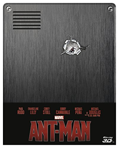 Ant-Man - 3d+2d - Steelbook - Édition Limitée [Blu-ray]