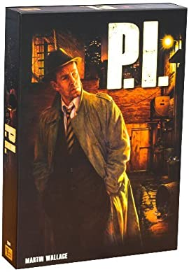 P.I. Board Game by Martin Wallace