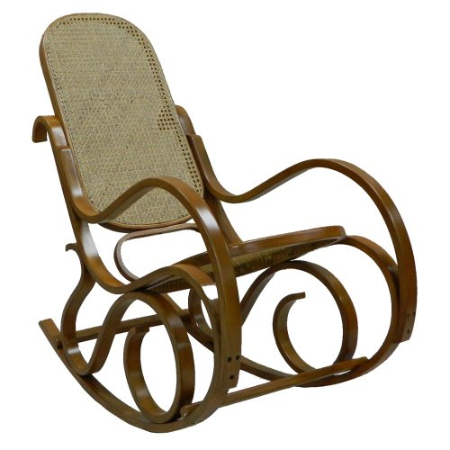 Carolina Chair And Table Co. Carolina Cottage Victoria Bentwood Rocking Chair, Oak, Wood front-69216