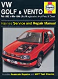 Vw Golf and Vento Service and Repair Manual : Petrol and Diesel 1992 to 1998 (Haynes Service & Repair Manuals)