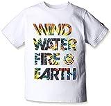 (エレメント)ELEMENT キッズ用  半袖 プリント Tシャツ 【 NAM PALM WWFE BOY 】 AG025-203 WWT WWT ( ホワイト系/マルチロゴ ) 150