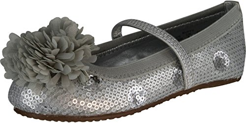 Stride Rite Buffy Cg 10/25 Flat (Toddler/Little Kid/Big Kid),Silver,11 M Us Little Kid front-787208