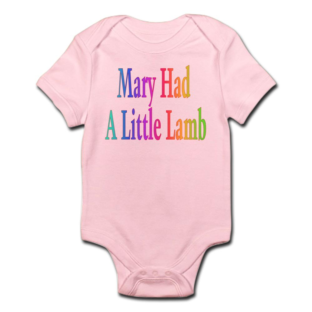 Mary Had Little Lamb Infant Onesie