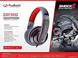 Audionic Shock 2 Gaming Headphone with Ultra Soft Ear Grips