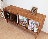 COUNTRY HOUSE(カントリーハウス) 木製 マガジンラック フラップラック ワトコミディアムKS-R-01-WM