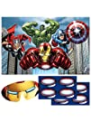 Avengers Party Game, Pin The Arc Reac…