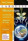 Micromegas ; Le monde comme il va ; Jeannot et Colin (Petits Classiques Larousse t. 76)