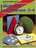 Math Fun and Games, Grades 3-4