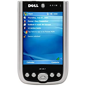 Dell Axim X51 416MHz PDA w/3.5 Touchscreen