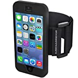 Mediabridge Sport Armband for iPhone 5 / iPhone 5S (Black)