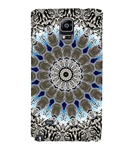 EPICCASE Animated Pattern With lines Mobile Back Case Cover For Samsung Galaxy Note Edge (Designer Case)