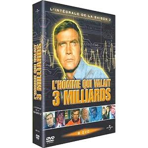 L'Homme qui valait 3 milliards : L'intégrale Saison 2 - Coffret 6 DVD