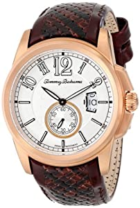 Buy Tommy Bahama Swiss Mens TB1267 Sunland Analog Display Japanese Quartz Brown Watch by Tommy Bahama