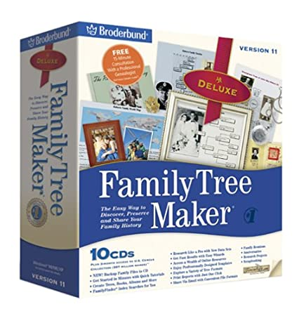 Family Tree Maker 11 Deluxe