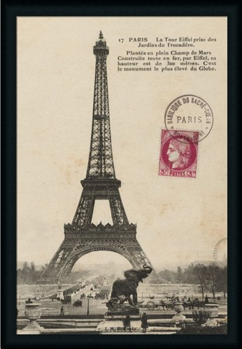 Paris 1900 by Wild Apple Portfolio Vintage Postcard