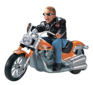 Amazon.com: Harley-Davidson Cruiser Ride-On: Toys & Games