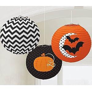 Shindigz Halloween Modern Halloween Printed Lanterns