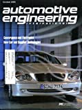 Automotive Engineering International October 2000 Mercedes-Benz C-Class in Wind Tunnel on Cover, Chevrolet Corvette, Speed Is King, Oldsmobile Aurora, Porsche 911 Turbo, Mitsubishi Spyder, Volvo S60, Safer Internet Access In Cars