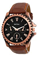 Matrix Analog Black Dial Men's Watch-CPR-ARM-BK