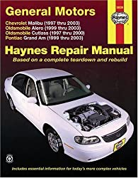 General Motors: Chevrolet Malibu (1997 thru 2003) Oldsmobile Alero (1999 thru 2003) Oldsmobile Cutlass (1997-2000) Pontiac Grand Am (1999 thru 2003) (Haynes Repair Manual)