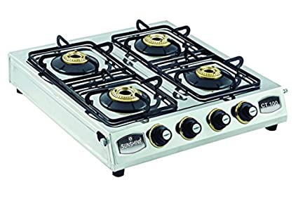 Sunshine CT 100 Gas Cooktop (4 Burner)