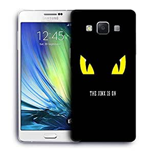Snoogg Jinx Is On Printed Protective Phone Back Case Cover For Samsung Galaxy A7