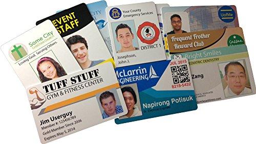 Inkjet PVC ID Card Starter Kit - Includes 50 Cards ...