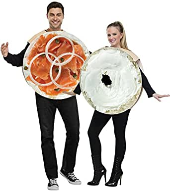 Bagel and Lox Couples Adult Costumes