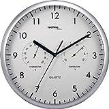 Technoline Wt 650 - Reloj de Pared con Term�metro Y Medidor de Humedad
