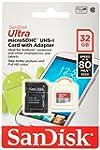 SanDisk Ultra 32GB microSDHC UHS-I Ca...