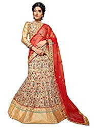 Silvermoon women's Net Embroidered heavy lehenga choli-sm_MIRNA100_Beige_free size
