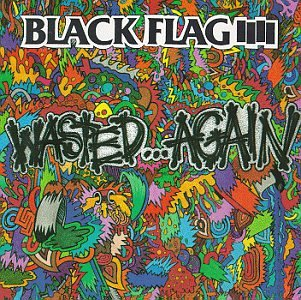 BLACK FLAG - WASTED AGAIN - LP