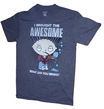Family Guy Stewie I Brought The Awesome Licensed Graphic T-Shirt - XXL
