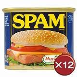レギュラースパム(SPAM)・ポークランチョンミート 12缶セット