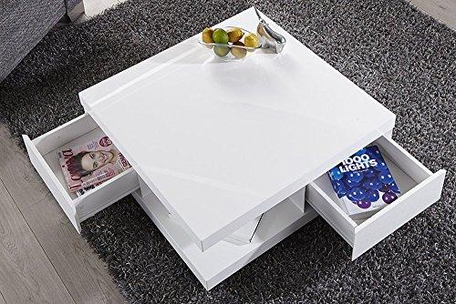 couchtisch wei hochglanz schublade com forafrica. Black Bedroom Furniture Sets. Home Design Ideas