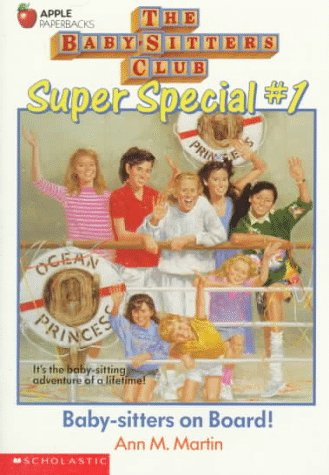 Baby-Sitters On Board! (Baby-Sitters Club Super Special, No. 1) front-1078117