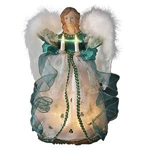 Kurt Adler UL 10-Light Angel Treetop Figurine