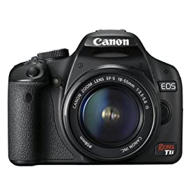 51THKreO3bL. SL500 AA280  Canon EOS Rebel T1i EF S Black SLR Digital Camera With 18 55mm Lens   $792 Shipped