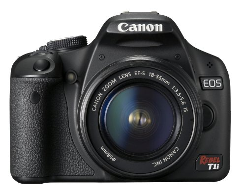 Canon EOS Rebel T1i 15.1 MP CMOS Digital SLR Camera with 3-Inch LCD and EF-S 18-55mm f/3.5-5.6 IS Lens