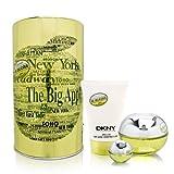 Dkny Be Delicious Gift Set 3 Pcs. [3.4 oz. Eau De Parfum Spray + 3.4 Oz. Body Lotion + 7Ml Edp Miniature Women (Tamaño: 3.4 Ounces)