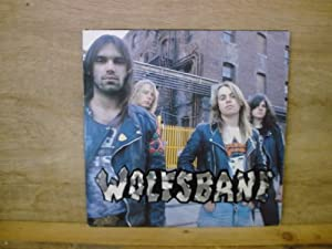 WOLFSBANE Live fast die young. first press on Def American 1989