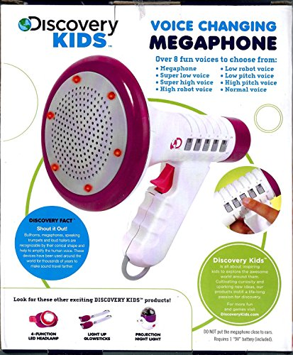 Voice Changing Megaphone - Purple or Blue Trim (Megaphone Kids compare prices)