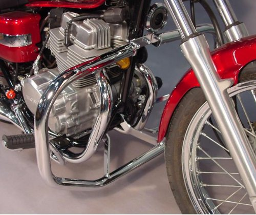 MC Enterprises Engine Guard Full Size 1-1/4 Chr F/ Kaw Vulcan 900 Classic/Custom (Vulcan 900 Engine compare prices)